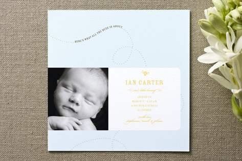 All the Buzz Birth Announcements