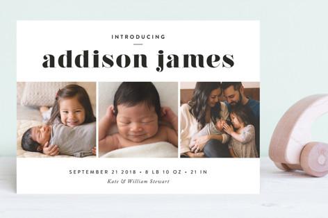 Avenue Birth Announcements