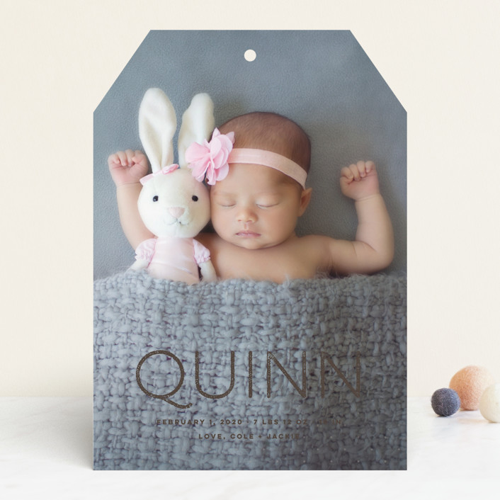 """""""Soft Dots"""" - Modern Birth Announcements in Cloud by fatfatin."""