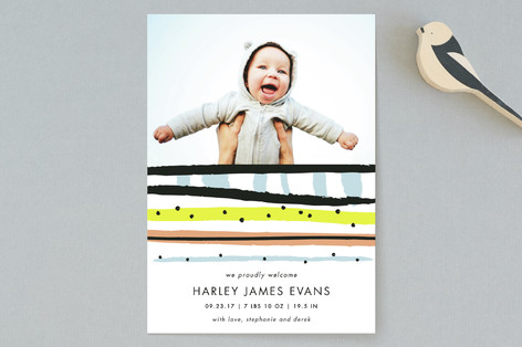 Party Time Birth Announcements