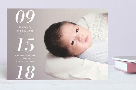 This Day Forward Birth Announcements