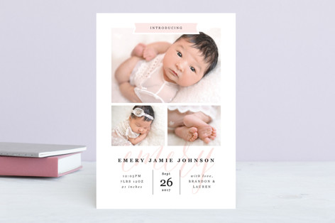 Baby Name Birth Announcements