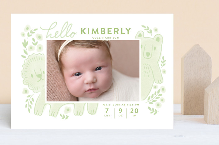 """""""The two happiest friends"""" - Birth Announcements in Nude by iamtanya."""