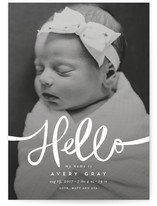 Warm Hello by Guess What Design Studio
