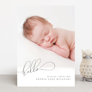 Chantilly Birth Announcements