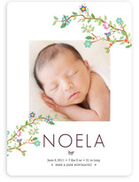 Tree Branch Birth Announcements By aticnomar