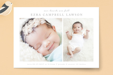 Joy Birth Announcements