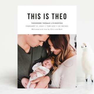 This Is Birth Announcements