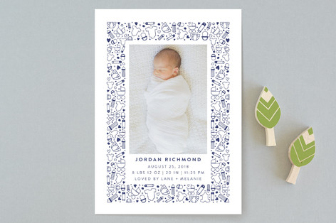 All the Accessories Birth Announcements