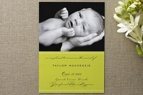MacKenzie Birth Announcements