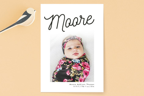 Sweetest Name Birth Announcements