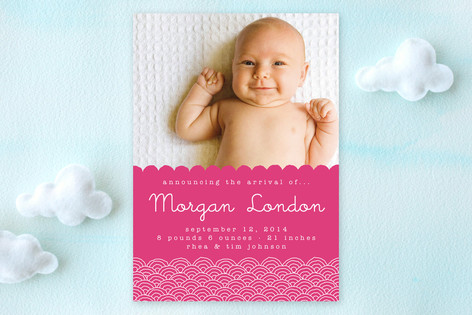 Naomi Birth Announcements