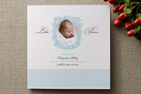 Sleep Sweet Birth Announcements