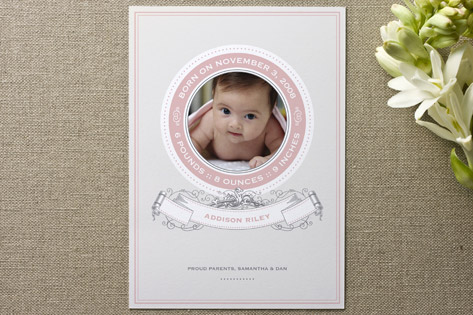 Scrolls Birth Announcements