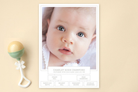 Roots Birth Announcements