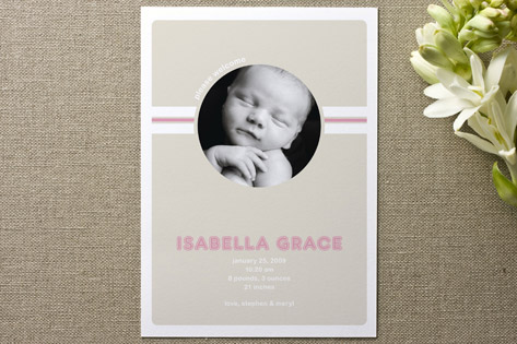 Welcome Birth Announcements