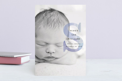 initial introduction Birth Announcements