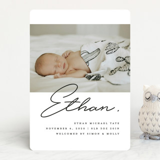 Authentic Birth Announcements