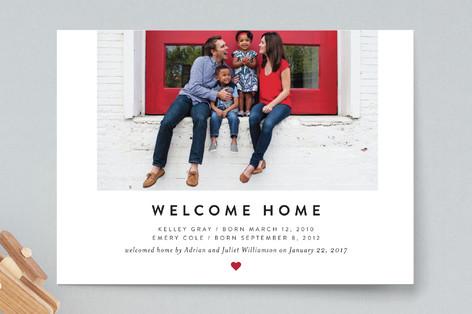 Heartfelt Welcome Birth Announcements