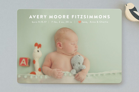 Labor of Love Birth Announcements