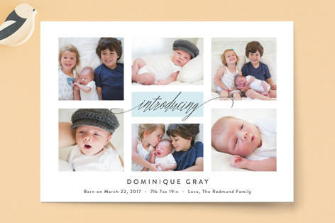 Refreshing Gallery Birth Announcements