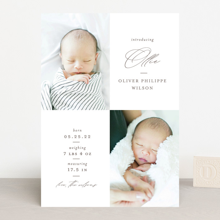 """""""Ollie"""" - Birth Announcements in Hickory by Mansi Verma."""
