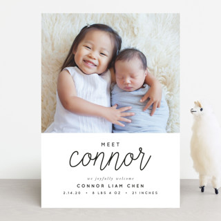 Joyful Baby Birth Announcements