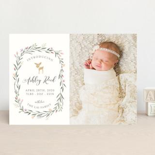 Little Deer Birth Announcements