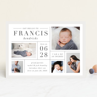 Daily Collage Birth Announcements