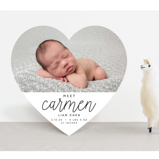 Joyfull Baby Birth Announcements