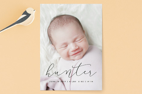 First name Birth Announcements