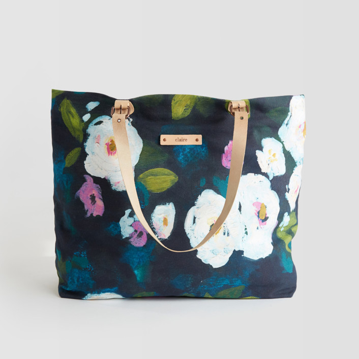 Montreal Garden Carry-All Slouch Tote