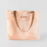 This is a pink carry all tote by Tanya Lee Design called Eyelet Blush.