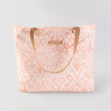 This is a pink carry all tote by Liz Conley called Painted Damask.