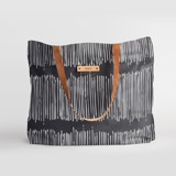 This is a black carry all tote by Tanya Lee Design called Matchstick Black.