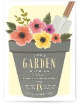 garden party flower pot