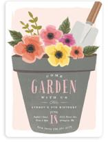 garden party flower pot