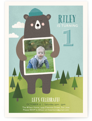 Teddy bear invitations main page bear hugs childrens birthday party invitations filmwisefo
