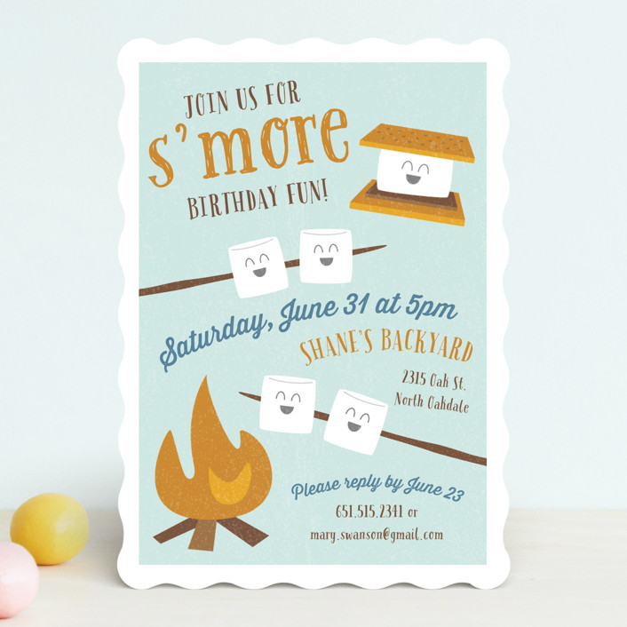 S More Fun Children S Birthday Party Invitations By Chelsey Scott