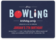 Bowling Birthday Party