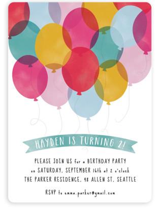 Kids balloon theme birthday party minted filmwisefo