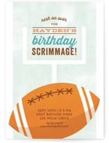 Birthday Scrimmage