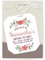 Modern Tea Party by Kristin Mastoras