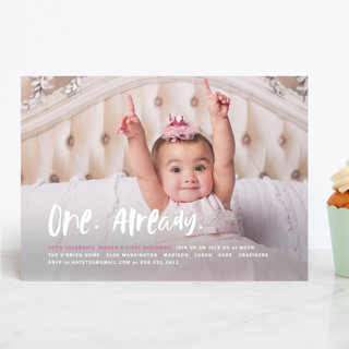 Already Children's Birthday Party Invitations