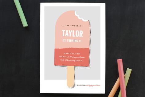 Sweet Shop Children's Birthday Party Invitations