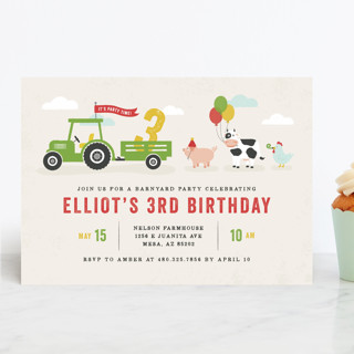Party Parade Children's Birthday Party Invitations