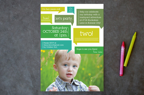 Thoughts On Birthday Boy Children's Birthday Party Invitations