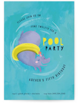 Animal Pool Party