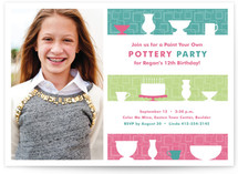 Pre-Teen Pottery Party