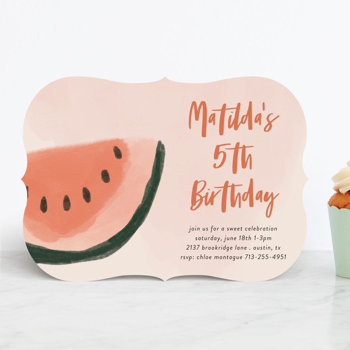 Picnic Kids' Birthday Party Invitation